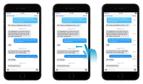 iphone message how to see imessage timests in the ios messages app
