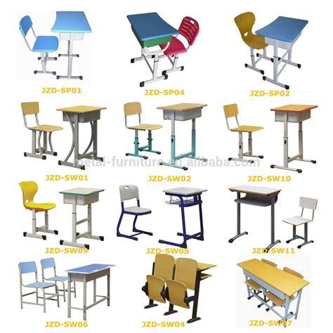 student table and chair furniture kids classroom training centre