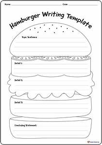 reading and writing resources archives k 3 teacher resources With burger writing template
