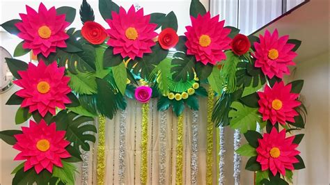 home ganpati decoration  home paper