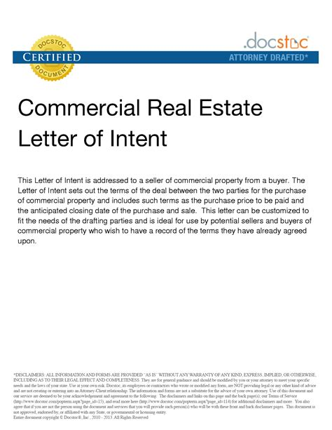 letter  interest  purchase property sample templates