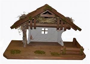 Krippe Weihnachten Holz : weihnachts krippe holz krippen stall delila ohne figuren 50 x 25 x 32 cm handarbeit aus bayern ~ A.2002-acura-tl-radio.info Haus und Dekorationen