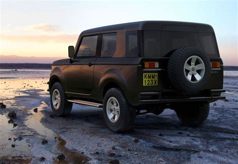 Checkout The New 'made In Kenya' Mobius Ii Car