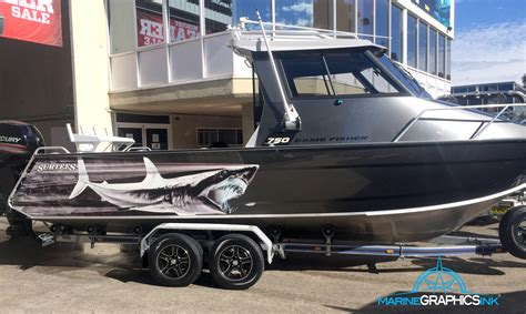 Mako Boats Sink by Has Sprung Marine Graphics Ink