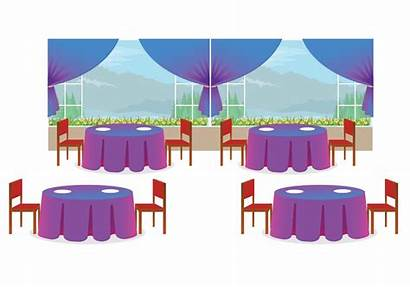 Restaurant Interior Graphics Reserved
