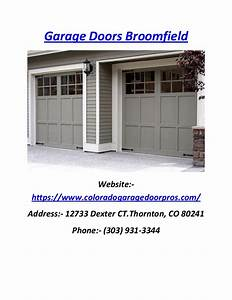 Colorado Garage Door Repair Broomfield