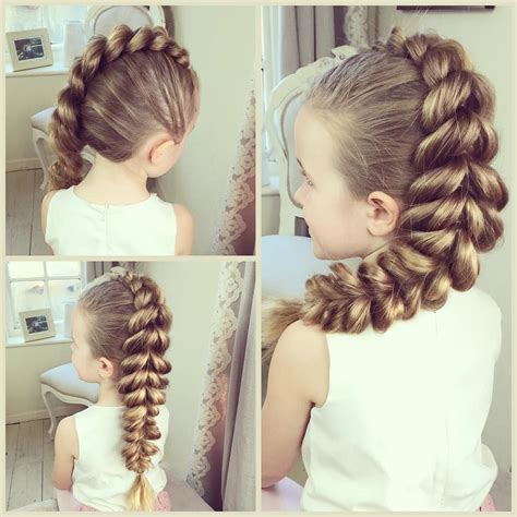 mohawk pull  braid    tutorial