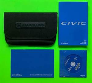 2017 Honda Civic Coupe Factory Owners Manual Guide Set