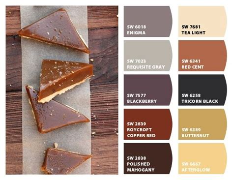 caramel paint color sherwin williams quot homemade caramel quot color palette inspiration chip it by