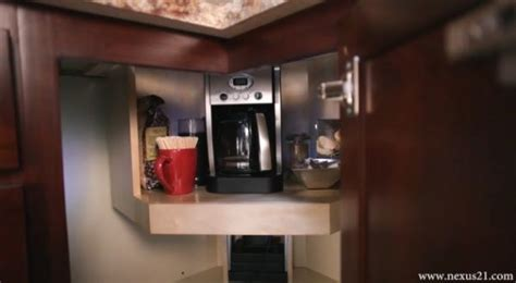 counter coffee maker hidden coffee maker lift