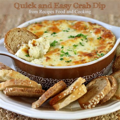 Easy And Quick Crab Dip