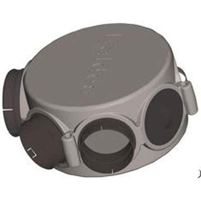 hotte cuisine moteur déporté 11023195 aldes caisson circulaire répartiteur 1 x ø160