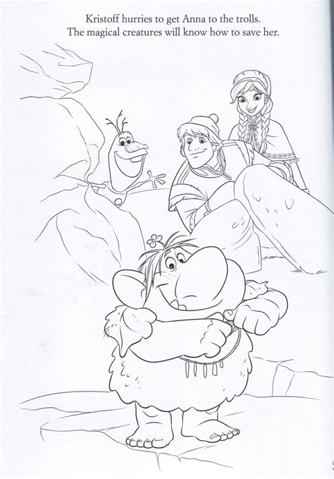 official frozen illustrations coloring pages frozen