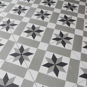 Carreaux De Ciment Pvc : carreau ciment star carrelage ciment ~ Melissatoandfro.com Idées de Décoration