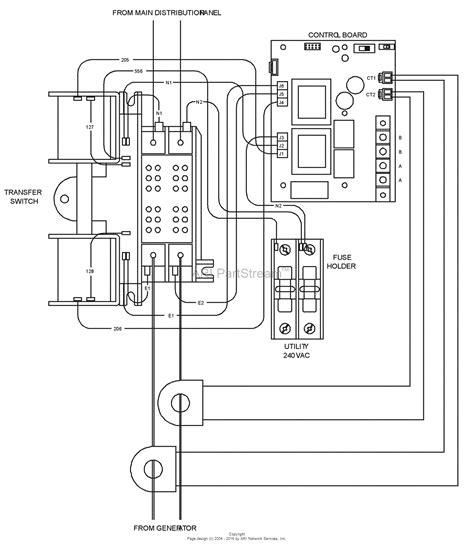 Emergen Transfer Switch Wiring Diagram by Briggs And Stratton Power Products 040456 00 10 000 Watt