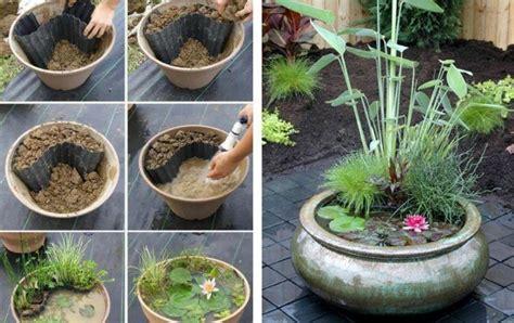 Miniteich Ideal Fuer Garten Terrasse Und Balkon by Gartendeko Zum Selbermachen Gartenteich Idee