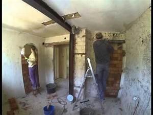 Tragende Wand Entfernen Träger Einziehen : 12 durchbr che zumauern 20150429 youtube ~ Lizthompson.info Haus und Dekorationen