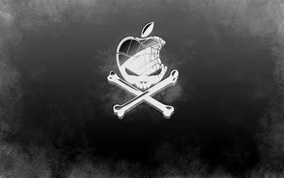 Apple Skull Wallpapers Desktop Cool Pirate Crossbones