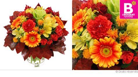 Bouquet De Fleurs Aux Couleurs D'automne