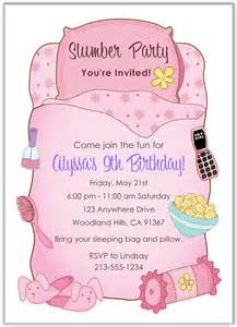 bridal guest book slumber party sleepover birthday invitations girl 2