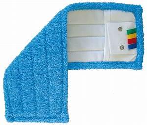 Balai Plat Microfibre : frange microfibre de lavage languettes et poches 44 x 14 cm ~ Edinachiropracticcenter.com Idées de Décoration
