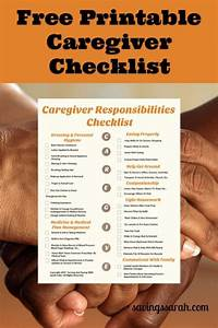 personal budget blog handy helpful caregiver responsibilities checklist