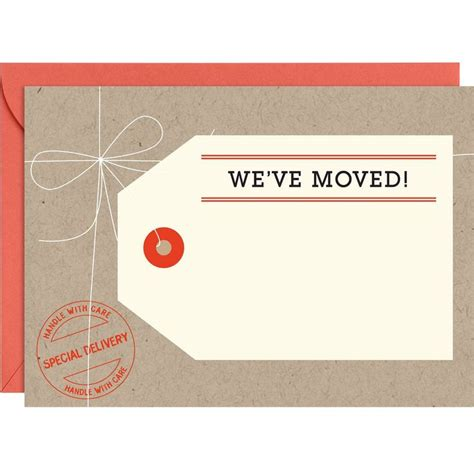 we moved cards template 43 best images about we ve moved on new house