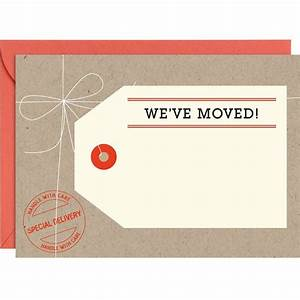 paper source 39we39ve moved39 card moving pinterest With we have moved cards templates