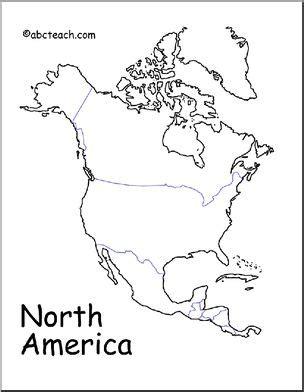 north america drawing  getdrawingscom