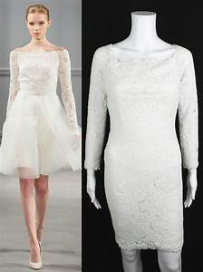 monique lhuillier white guipure lace long sleeve wedding With size 0 wedding dress