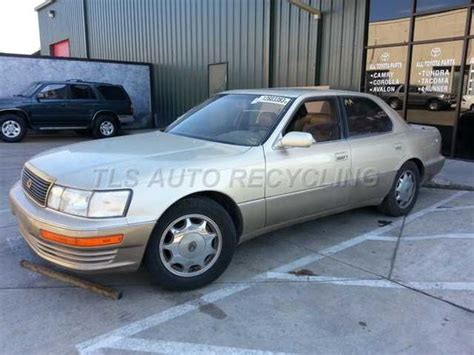 old car repair manuals 1994 lexus ls free book repair manuals used parts for 1994 lexus ls 400 stock 3017pr 171 tls auto recycling