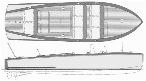 belle isle barrelback runabout boatdesign