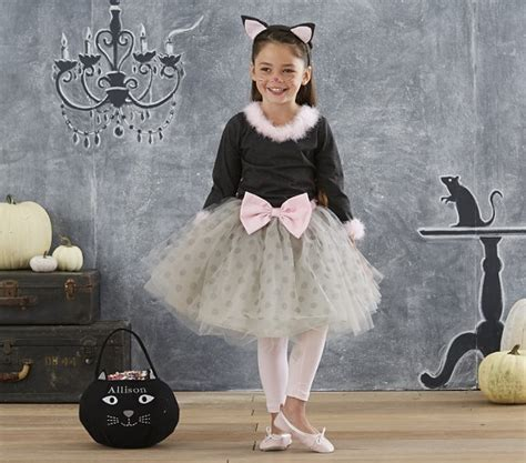pottery barn costumes gray kitty tutu costume pottery barn