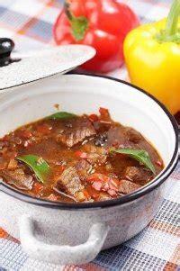 goulash de boeuf recette facile  jour une recette