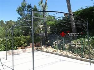 Arche De Jardin En Fer Forgé : best tonnelle de jardin fer forge ronde pictures awesome ~ Premium-room.com Idées de Décoration