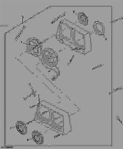 Tail Light  Brake Light And Turn Signal Light   - 882700  - Loader John Deere 210le