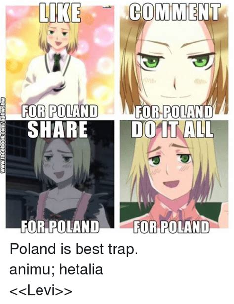 Anime Trap Memes - like comment for poland for poland share do it all for poland for poland poland is best trap