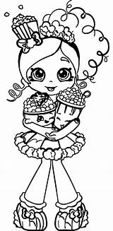 Coloring Pages Shopkins Shopkin Popcorn Printable Cartoon Christmas Activity Doll Colouring Sheets Sol Rs Wecoloringpage Shoppies Story Charge Getcolorings Healthiest sketch template