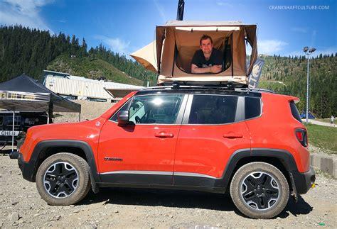 jeep renegade tent renegade rooftop tent crankshaft culture