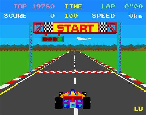 retro pole position arcade conversion to the