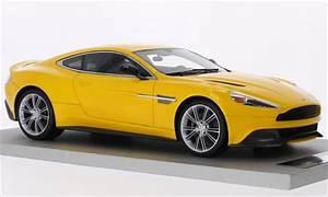 Aston Martin Miniature : aston martin vanquish miniature coupe metallic jaune tecnomodel 1 18 voiture ~ Melissatoandfro.com Idées de Décoration