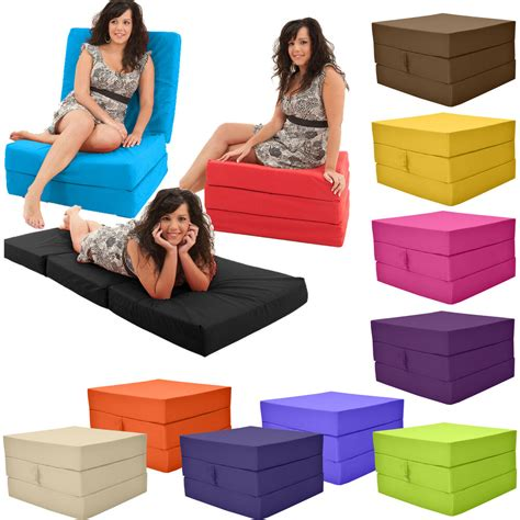 single futon bed stain resistant fold out cube guest z bed chair cube