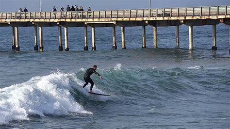 Week High Surf Forecast For San Diego Beaches Times