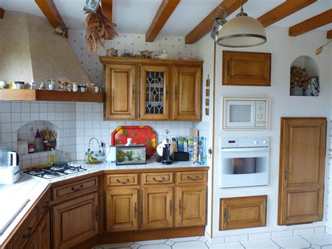 renover cuisine chene beaufiful repeindre cuisine bois pictures gt gt relooker