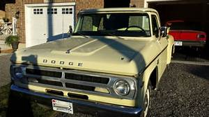 1970 Dodge D100 Stepside Pickup  Western Usa Truck  Small