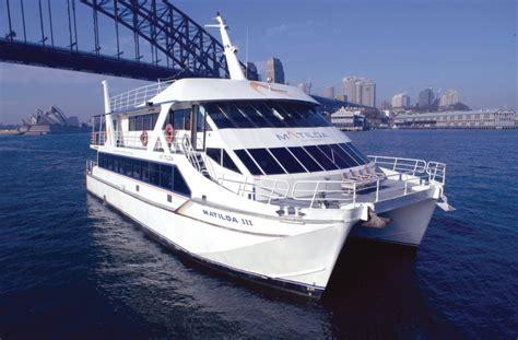 Catamaran Harbor Cruise by Matilda Cruises Captain Cook Cruises Sydney Harbour