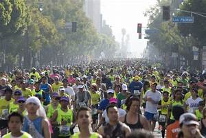 Map: LA Marathon: The route, streets to avoid and more ...