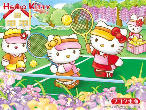 kitty  friends wallpaper wallpapersafari
