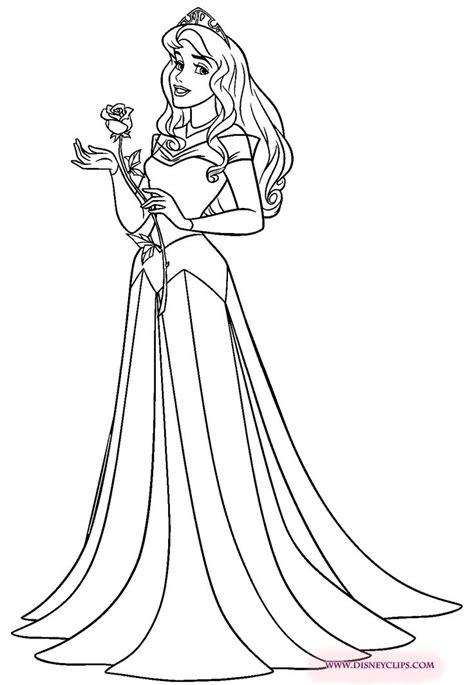 aurora disney princess coloring pages   print