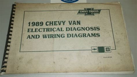 Chevrolet Chevy Van Electrical Diagnosis Wiring